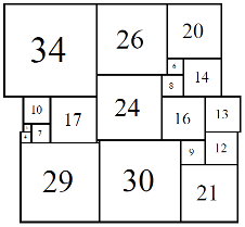 Figure 15; 80x80 Square-Cylinder
