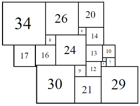 Figure 9; 80x80 Square-Cylinder