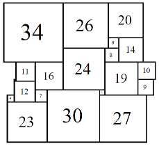 Figure 7; 80x80 Square-Cylinder