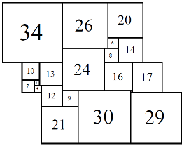 Figure 10; 80x80 Square-Cylinder