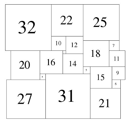 Figure 1; 79x79  Square-Cylinder