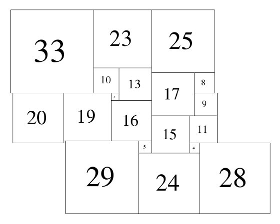Figure 2; 81x81 Square-Cylinder